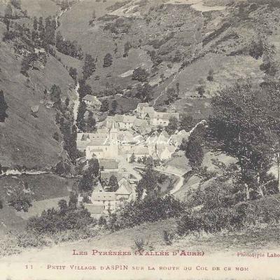 0 - 11 - Petit village d'Aspin sur la route du Col de ce nom