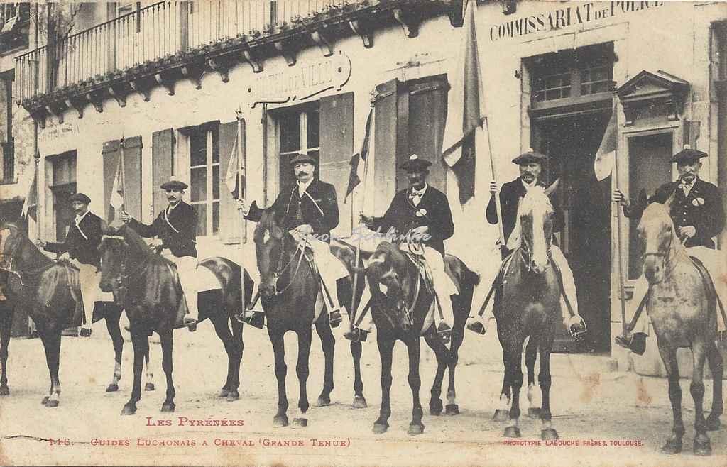 0 - 116 - Guides Luchonais à cheval (Grande tenue)