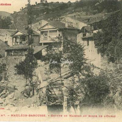 0 - 147 - Mauléon-Barousse - Maisons au bord de l'Ourse