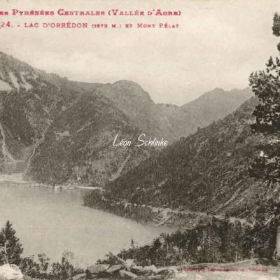 0 - 224 - Lac d'Orédon et Mont Pélat