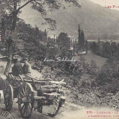 0 - 270 - Luchon, la route d'Espagne à Castelvielh