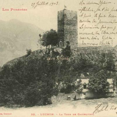 0 - 32 - Luchon, la Tour de Castelvieil