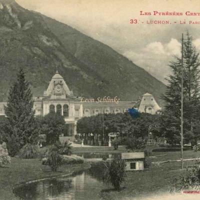0 - 33 - Luchon, le Parc du Casino