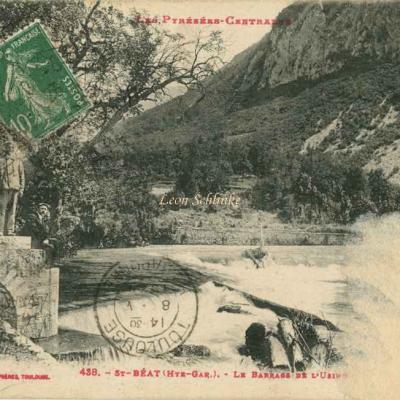0 - 438 - St-Béat - Le Barrage de l'Usine