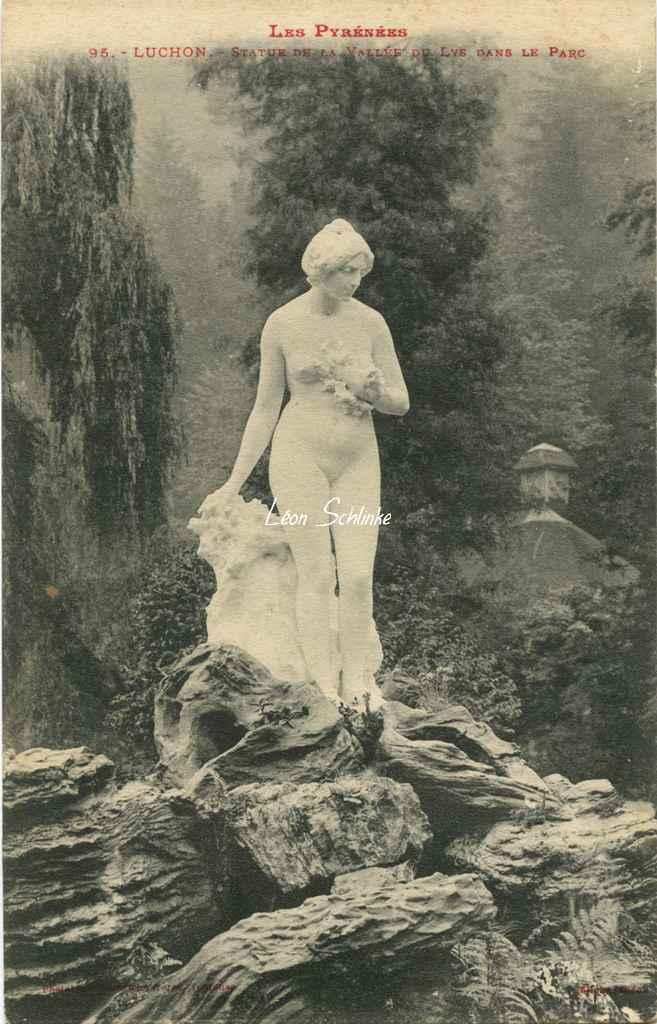 0 - 95 - Luchon - Statue de la Vallée du Lys