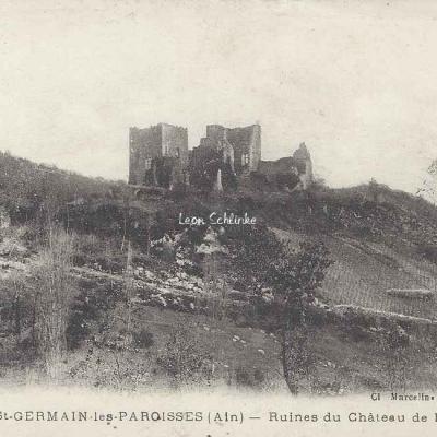 01-Saint-Germain-les Paroisses - Château de Beauretour (Marcellin 833)