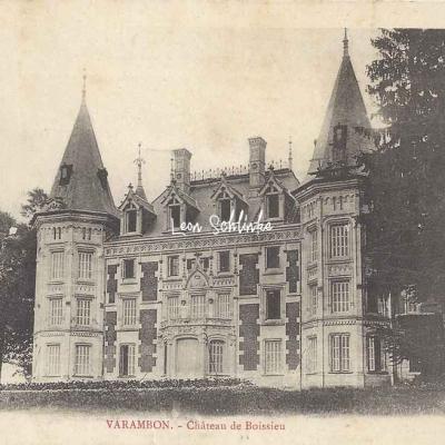 01-Varambon - Château de Boissieu (B.Ferrand à Bourg)