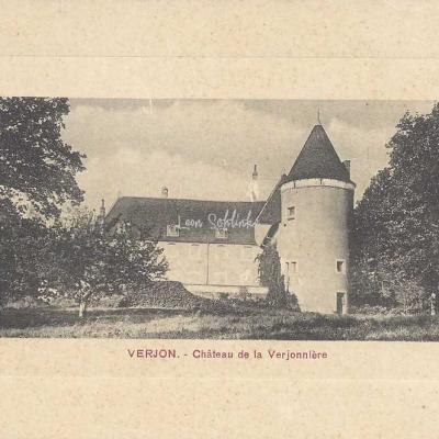 01-Verjon - 5435 - Château de la Verjonnière (B.Ferrand, ed. Salavin)