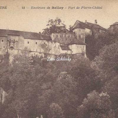 01-Virignin - Fort de Pierre-Chatel, près Belley (B.F.)