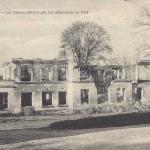 02-Brumetz - Le Château détruit en 1914 (Edit. Guérin)