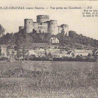 02-Coucy-le-Château-Auffrique - Vue prise au couchant (ND 4