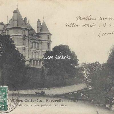 02-Faverolles - Château de Maucreux (Risse lib. 367)