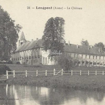 02-Longpont - 24 - Le Château (Godet, edit.)