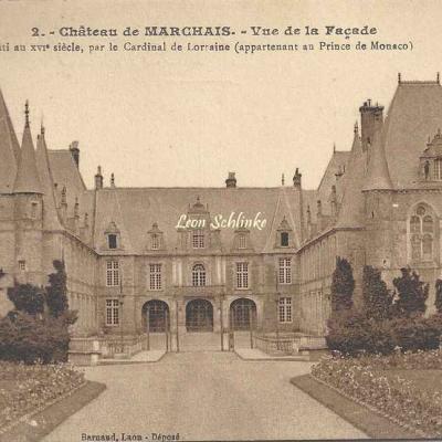 02-Marchais - 2 - Le Château (Barnaud à Laon)