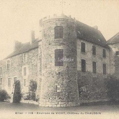 03-Abrest - Château du Chaussin près Vichy (MTIL)