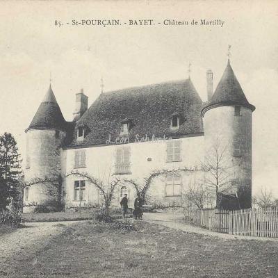 03-Bayet (St-Pourçain) - 85 - Château de Martilly (A.Denizot)