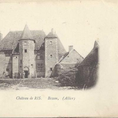 03-Besson - Château de Ris (Grégoire édit.)
