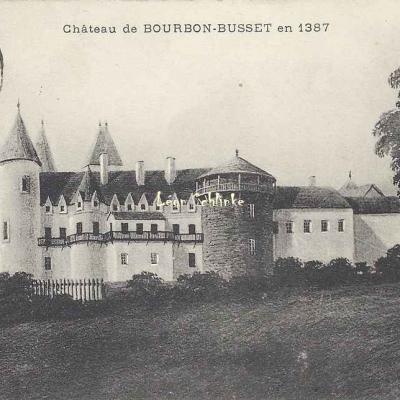 03-Busset - Château de Bourbon-Busset (Chabard édit.)