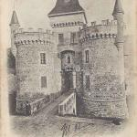 03-Busset - Le Pont-levis du Château (ND 85)