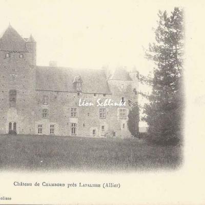 03-Cindré - Château de Chambord (Hugon à Lapalisse)