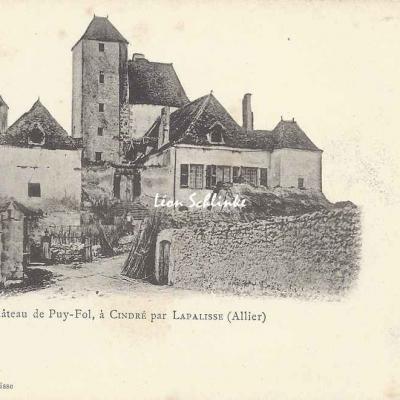 03-Cindré - Château de Puy-Fol (Hugon à Lapalisse)