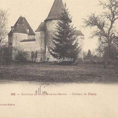 03-Dompierre-sur-Besbre - 269 - Château de Toury (Poulette édit.)