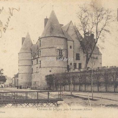 03-Jaligny - Château de Jaligny, près Lapalisse (Hugon édit.)