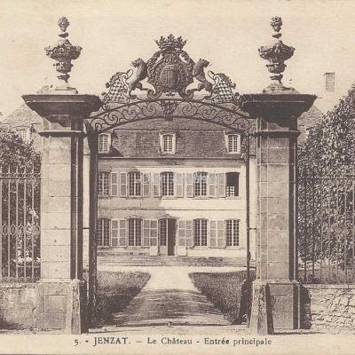 03-Jenzat - 5 - Le Château (La Cigogne à Vichy)