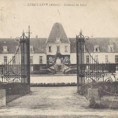 03-Lurcy-Lévy - Château de Lévy (Imp. Ch.Desrue)