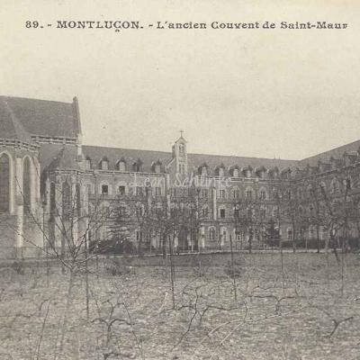 03-Montluçon - Ancien Couvent de St-Maur (G.Chaumont 89)
