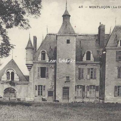 03-Montluçon - Château des Ilets (F.Pointud 46)