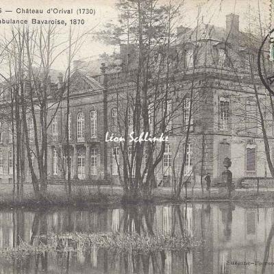 08-Bazeilles - Château d'Orival (Suzaine-Pierson 94)