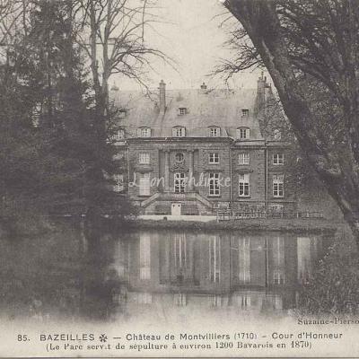 08-Bazeilles - Château de Montvillers (Suzaine-Pierson 85)