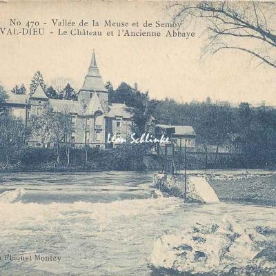 08-Monthermé - Laval-Dieu, Château et ancienne Abbaye (Floquet-Moncy)