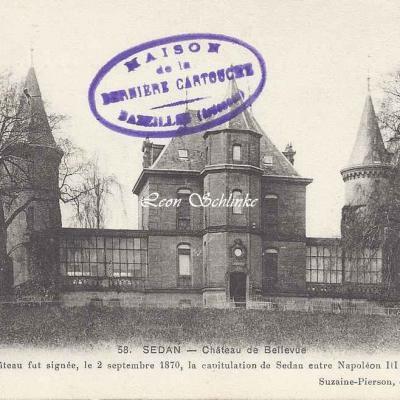 08-Sedan - Château de Bellevue (Suzaine-Pierson 58)