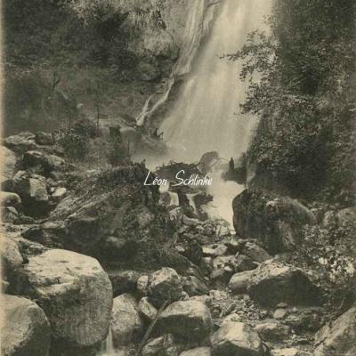 1 - 100 - Luchon - Cascade de l'Usine électrique de Sourrouille