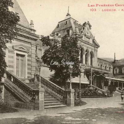 1 - 103 - Luchon - Façade du Casino