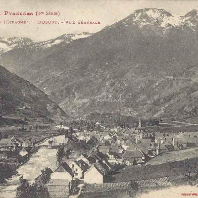 1 - 14 - Vallée d'Aran - Bosost, vue générale