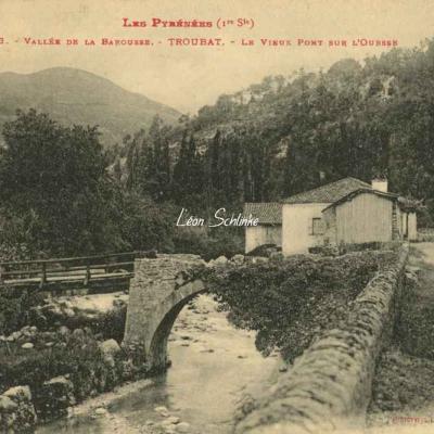 1 - 143 - Troubat, Vallée de la Barousse - Vieux Pont sur l'Oursse
