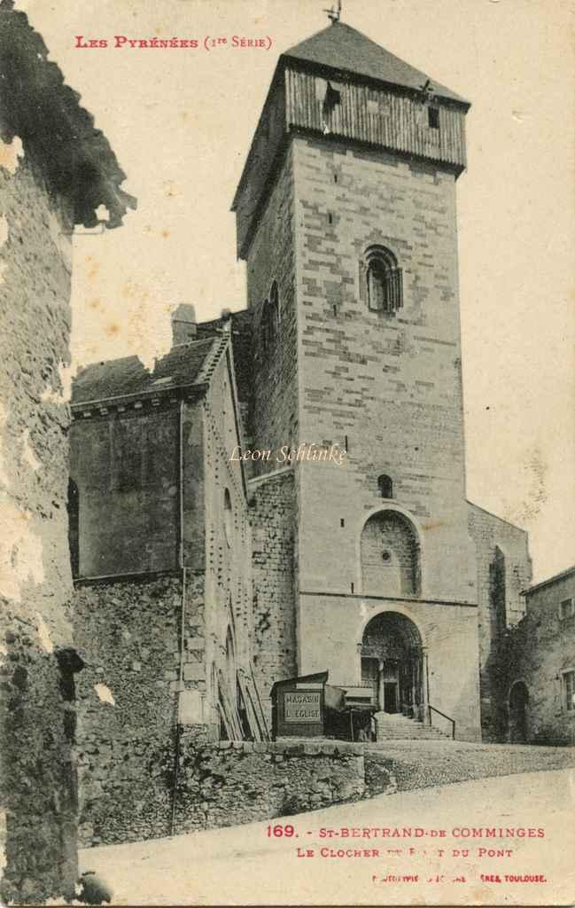 1 - 169 - St-Bertrand de Comminges, le Clocher