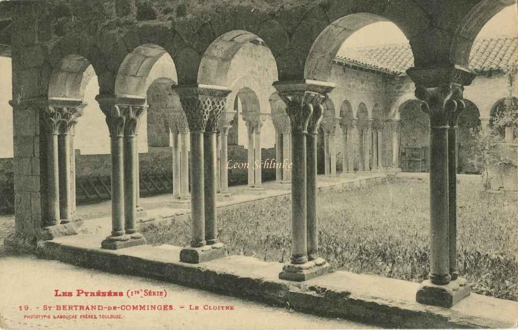 1 - 19 - St-Bertrand de Comminges - Le Cloître