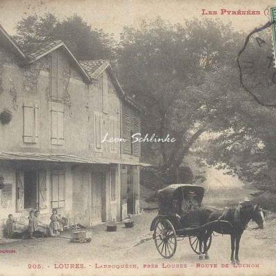 1 - 205 - Loures - Labroquère, près Loures, route de Luchon