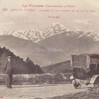 1 - 301 - Vallée d'Aure, Plateau du Col d'Aspin