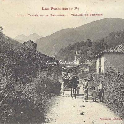 1 - 334 - Vallée de la Barousse - Village de Ferrère