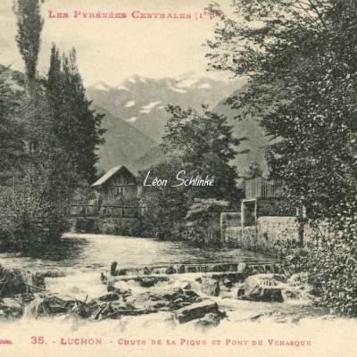1 - 35 - Luchon - Chute de la Pique et Pont de Venasque