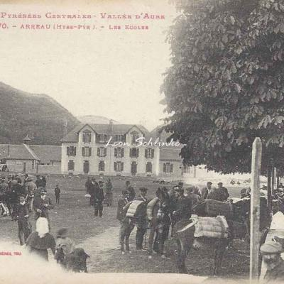 1 - 370 - Vallée d'Aure - Arreau, les Ecoles