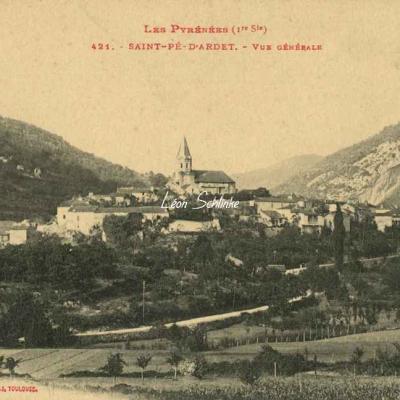 1 - 421 - Saint-Pé d'Ardet - Vue générale