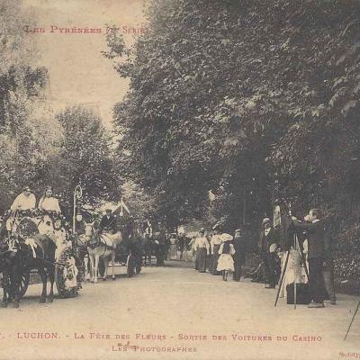 1 - 457 - Luchon - La Fête des Fleurs, les Photographes