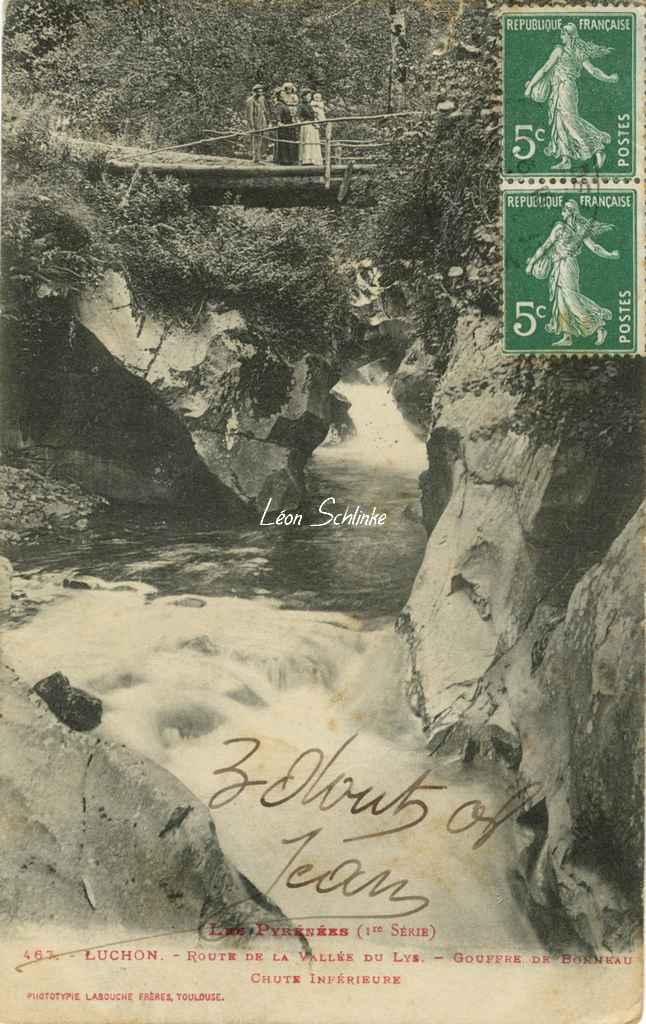 1 - 467 - Luchon - Gouffre de Bonneau
