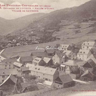 1 - 484 - Environs de Luchon - Vallée d'Oueiul, village de Caubous